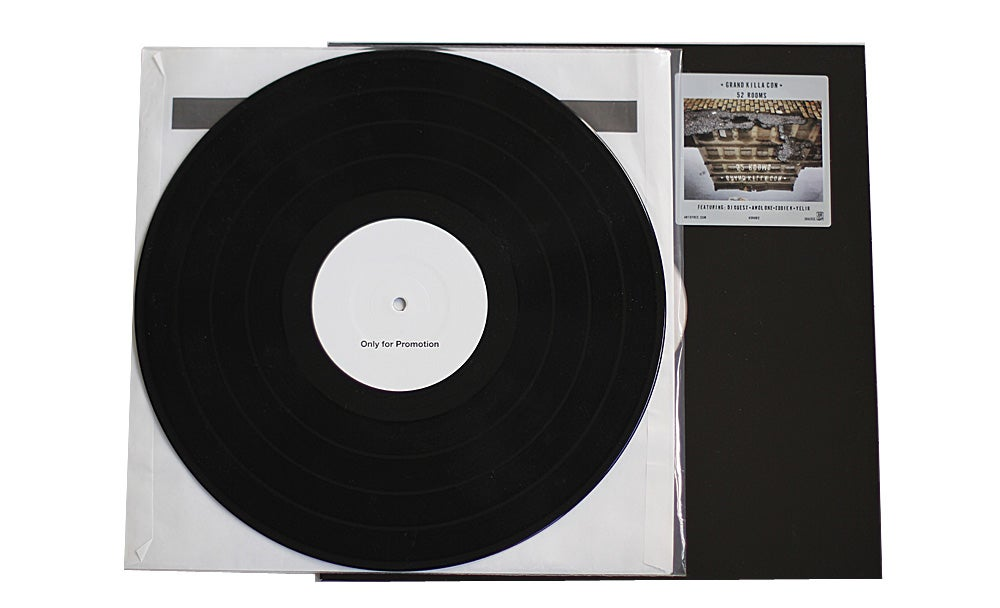 Image of Grand Killa Con - 52 Rooms Test Pressing