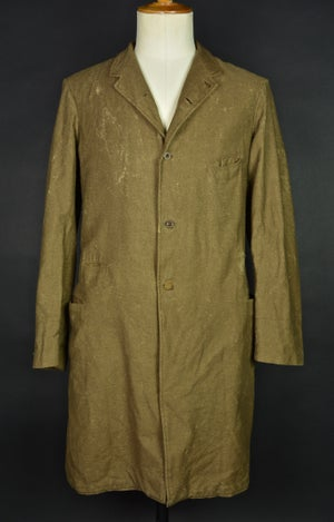 Image of 1900'S FRENCH BROWN WOOLEN COAT BLOUSE