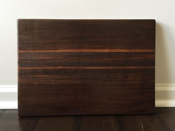 Image of Zebra Wood Striped Board