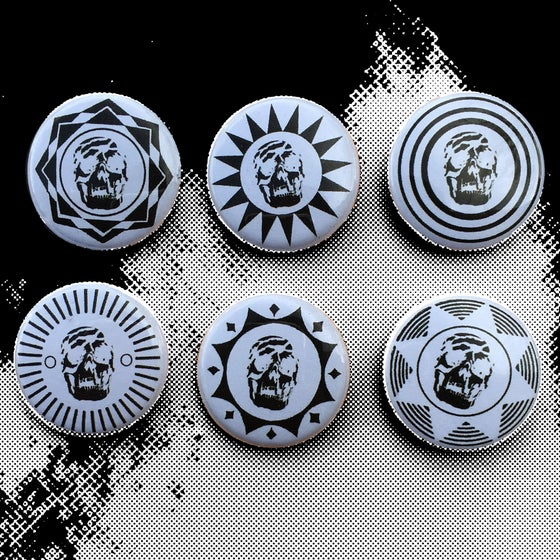 Image of Jets Of Death Button Pack