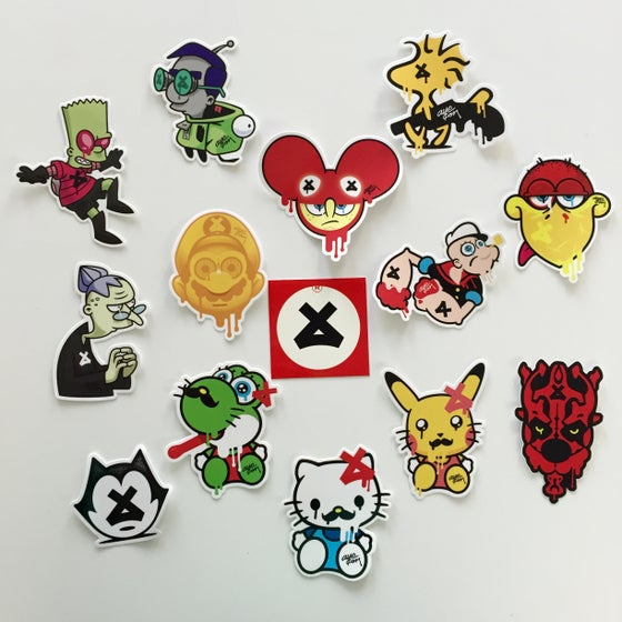 Image of MEGA Sticker Pack + 1 FREE