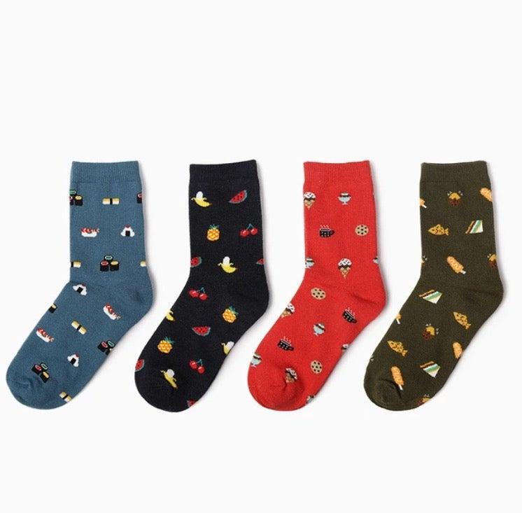 "Image of X-Society Socks ""munchies kawaii"""