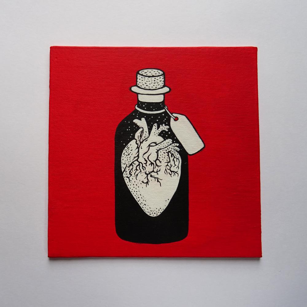 Image of The bottled heart
