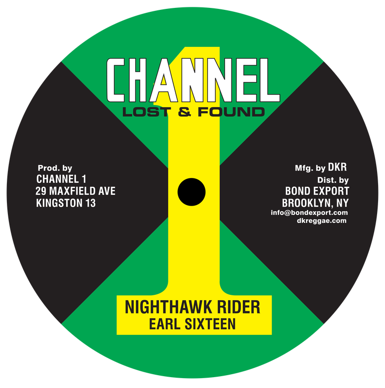 "Image of Earl Sixteen - Nighthawk Rider / Music Machine 10"" (Channel 1)"