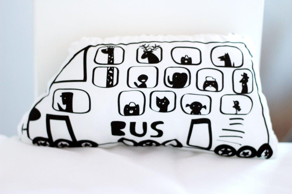 Image of Muñeco cojín BUS