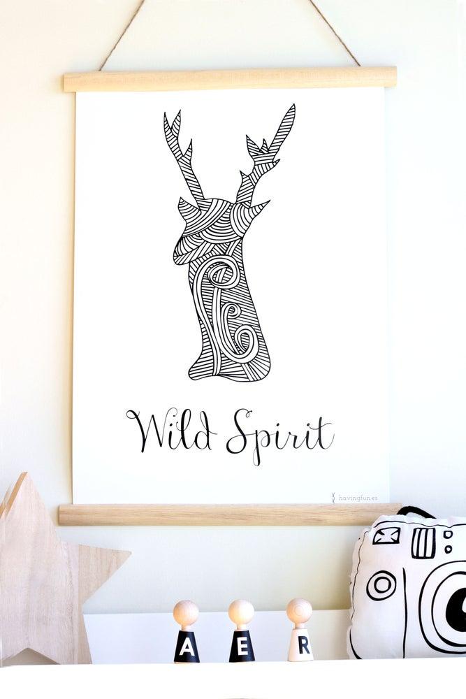 Image of Lámina Wild Spirit