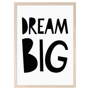 Image of Dream Big -printti, Mini Learners