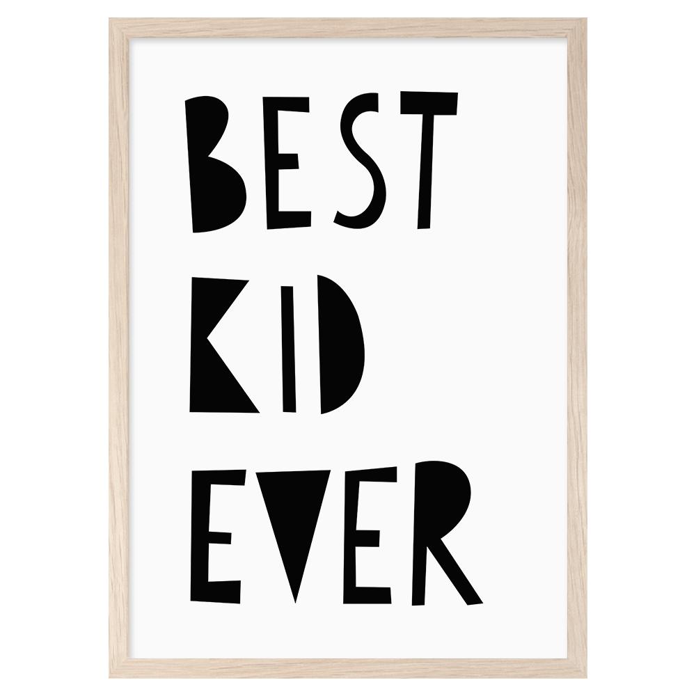 Image of Best Kid Ever -printti, Mini Learners