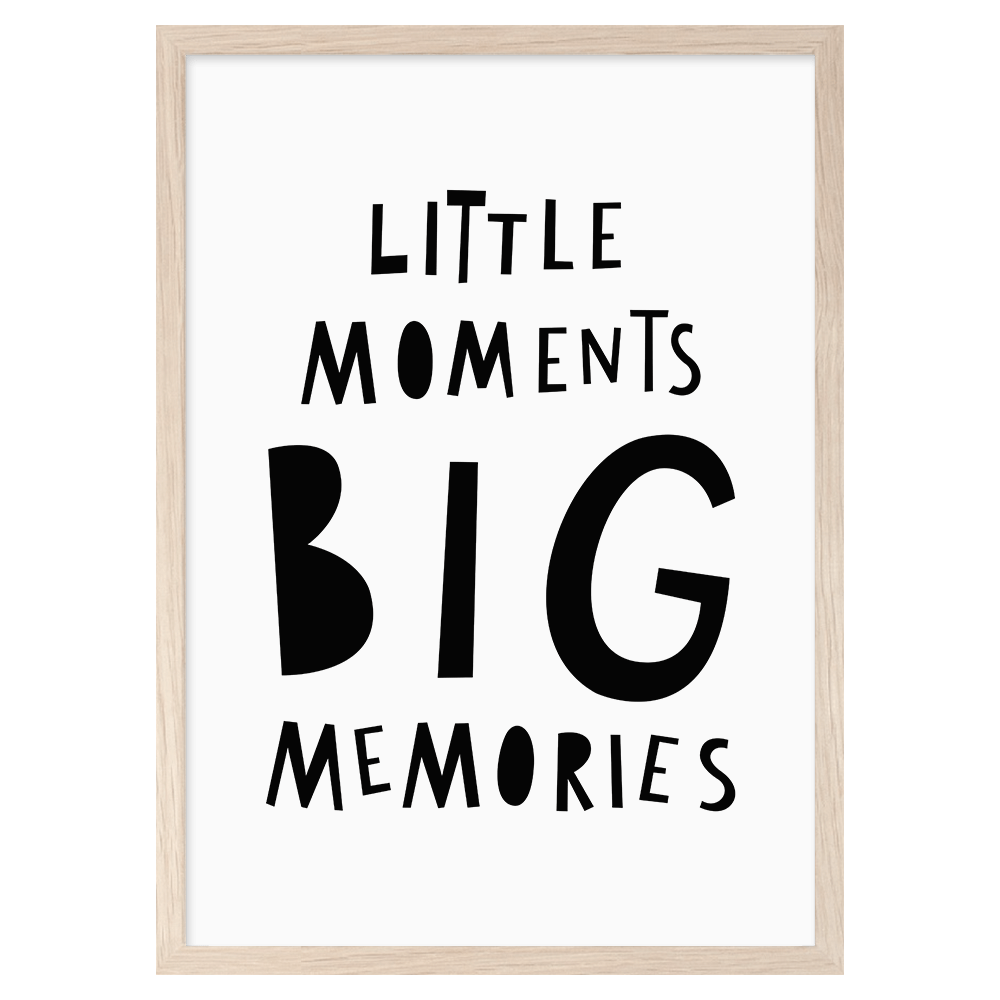 Image of Little Moments.. -printti, Mini Learners