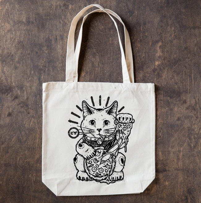 Image of Samurai Pizza Cat TOTE