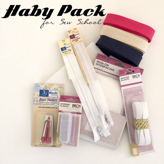 Image of Basic Haby Packs for Sew School