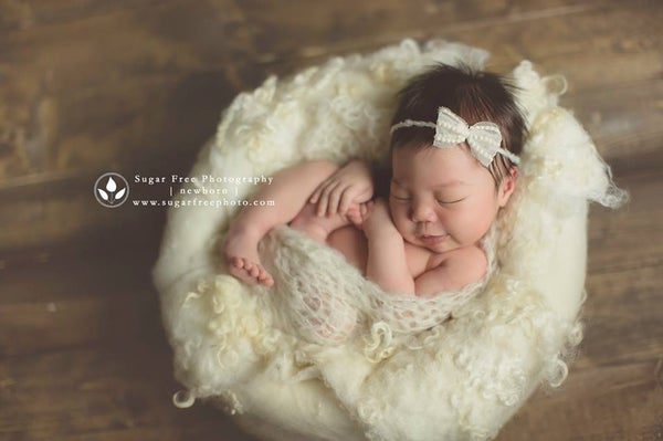 Image of Nest of Curls Blanket - IVORY