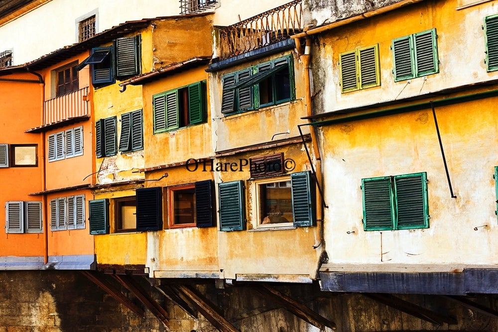 Image of PONTE VECCHIO • Custom Framed
