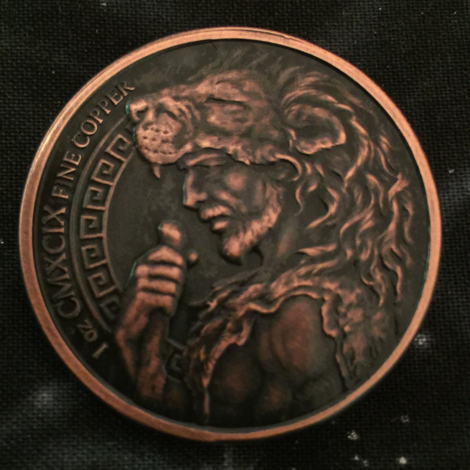 Cattle Of Geryon 1oz Copper Challenge Coin / Rowan Valley