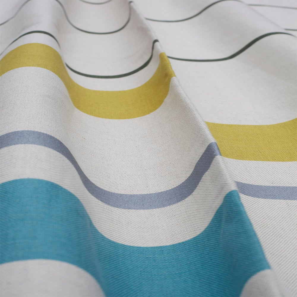Linen Double Bedspread By White Pomegranate Yellow