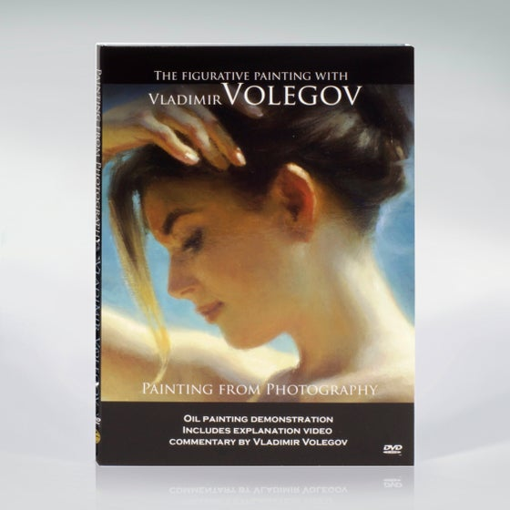 "Image of DVD Instructional Video ""The Figurative Painting with Vladimir Volegov"""