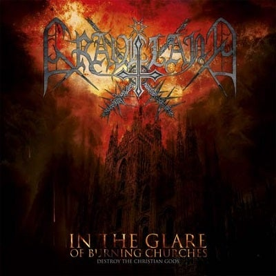 "Image of Graveland ""In The Glare of Burning Churches""  1993"