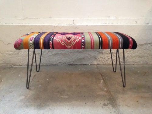 Image of Kilim Bench | Medium