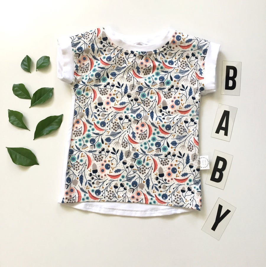 Image of Botanic organic cotton baby tshirt dress