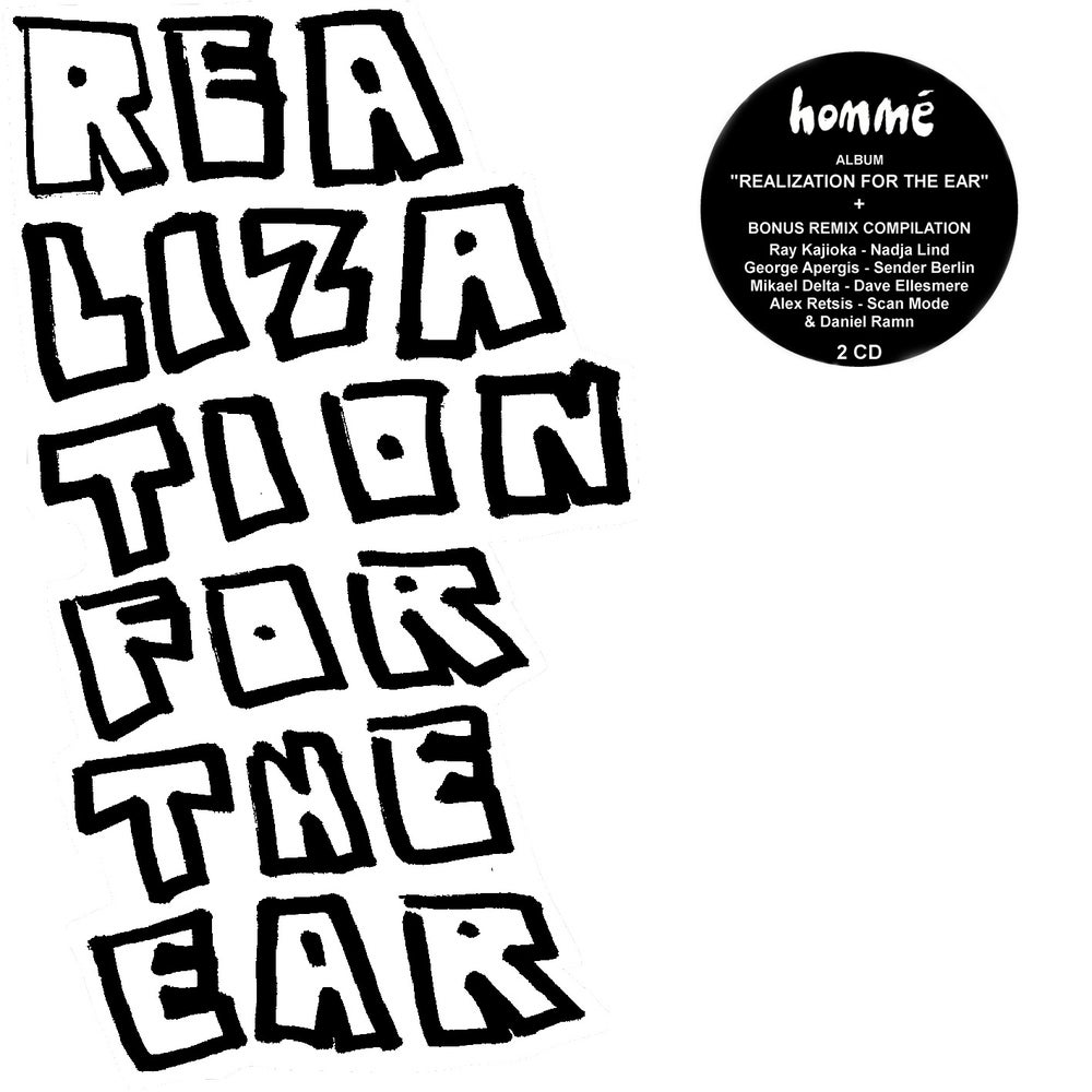 Image of Homme - Realization For The Ear + Remixes - Interpretations 2CD