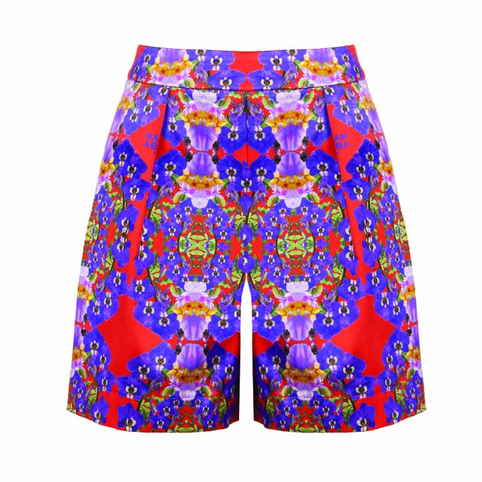 Image of Baby Shorts| Red Violet