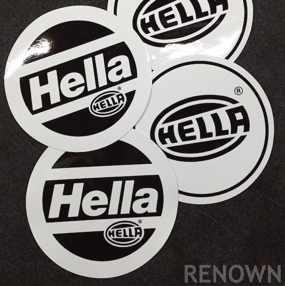 "Image of 5.25"" Hella Headlight Vinyl Protector"
