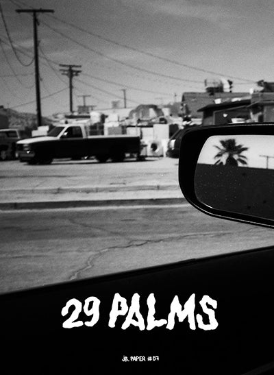 Image of JB. Paper #07 — 29 PALMS (BY CAR)