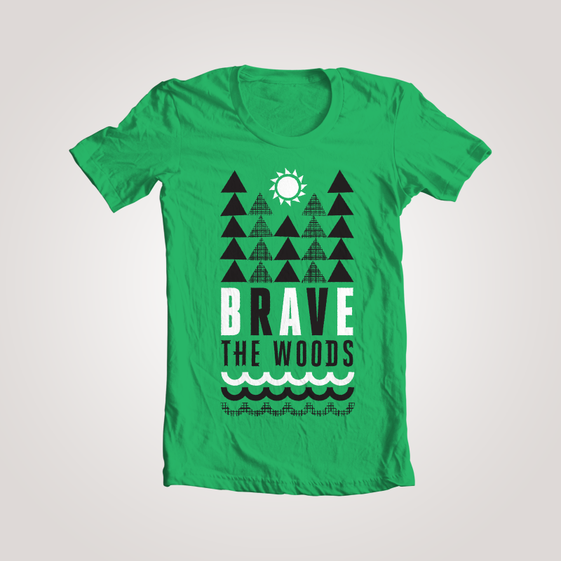 Image of Brave Forest Tee - Women's