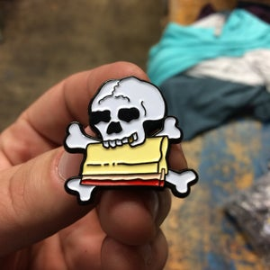 Image of Print Or Die - 1.25in soft enamel pin