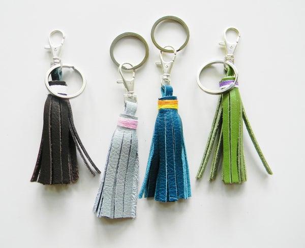 Image of Tassel Keychain