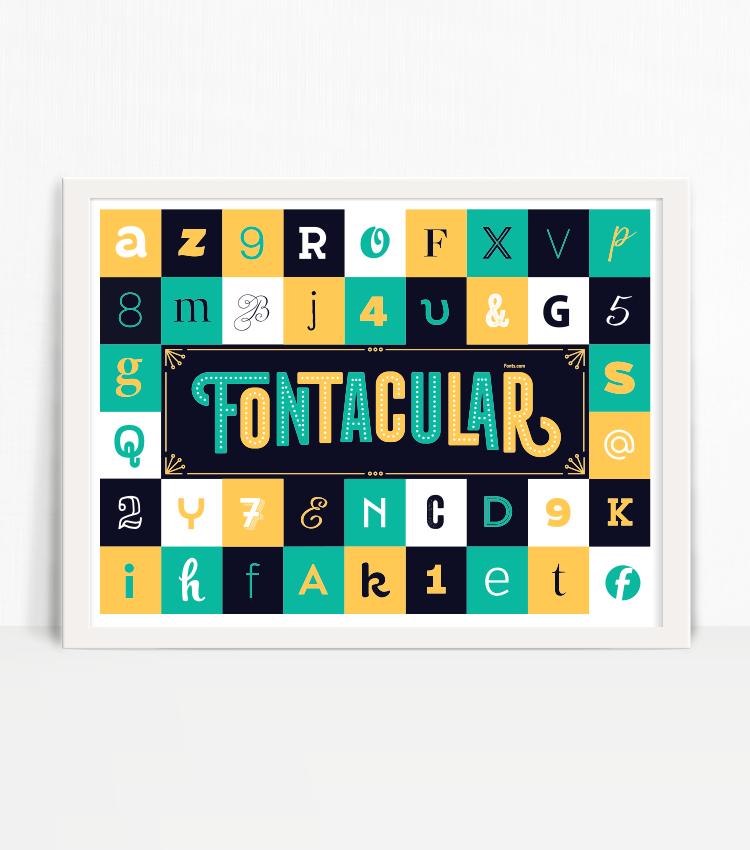 Image of Fontacular Poster