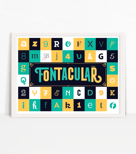 Image of Fontacular Poster