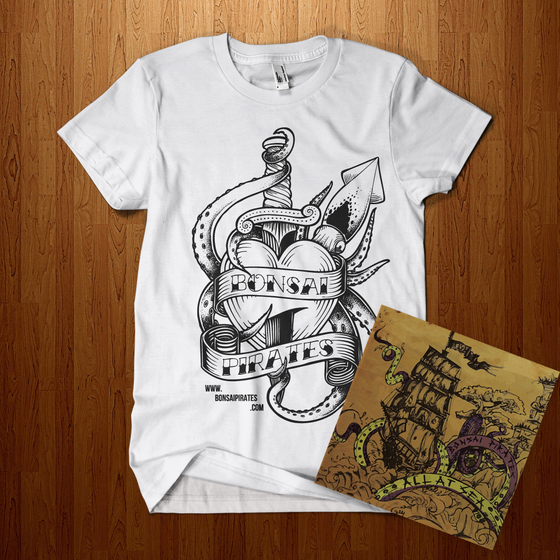 Image of T Shirt & CD Bundle