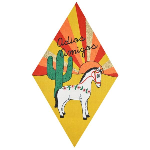 Image of Adios Amigos Back Patch