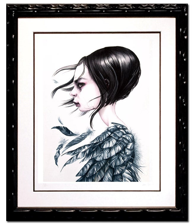 Image of Annie Owens 'NEVERWAS' framed giclée print
