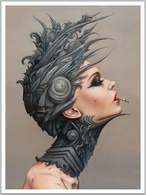Image of Brian Viveros / Dan Quintana 'Desensitized 13' giclée print