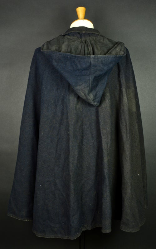 Image of 1900's FRENCH WOOLEN CLOAK COAT CAPE