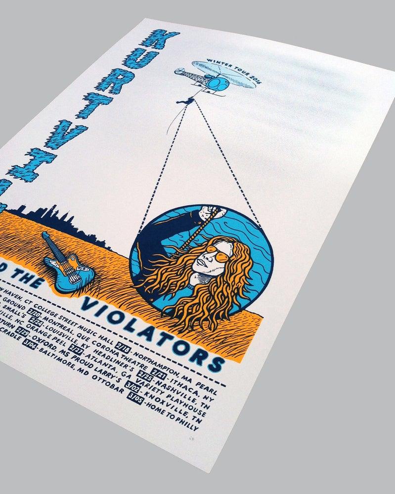 Image of Kurt Vile - Tür Poster