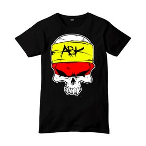 Image of ABK Cartoon Skull Tee