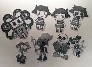 Image of Undertale Stickers