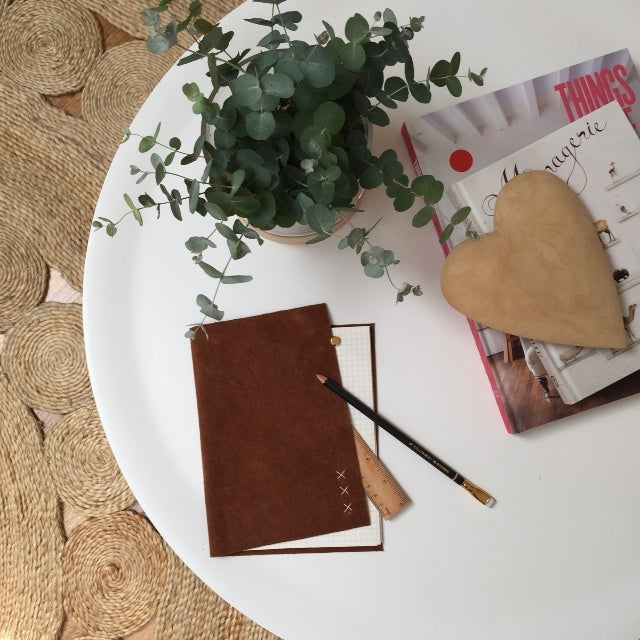 Image of Leather Bound Notepad