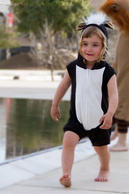 Image of Skunk Summer Playsuit  אוברול קיץ בואש