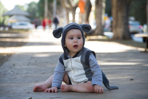 Image of Mouse Summer Playsuit אוברול קיץ עכבר
