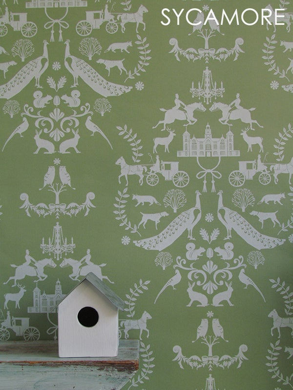 Image of Wallpaper Sample: Lord of the Manor