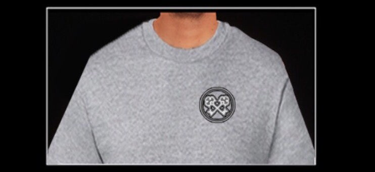 Image of Grey SK Army s/s Tee
