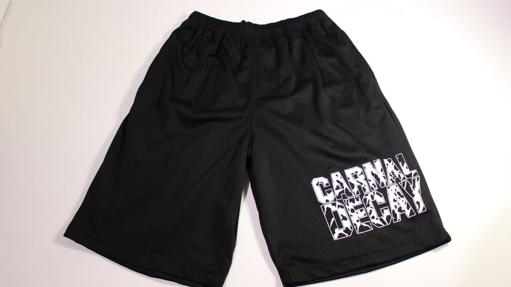 Image of Mesh Shorts BLACK