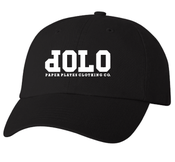 Image of PPCCO. 'dOLO' Unstructured Hat: Black/ White