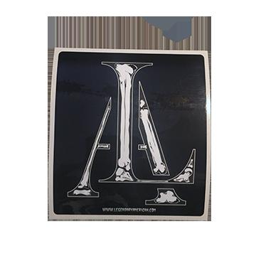 Image of Legendary American LA Bones sticker