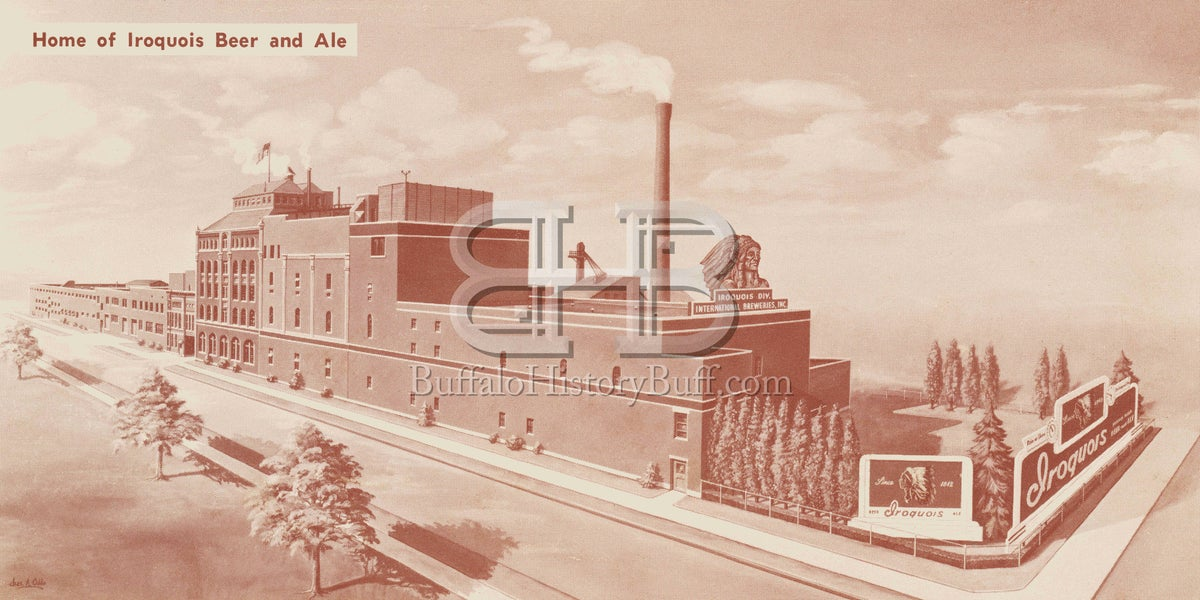 Buffalo History Buff Iroquois Beverages Factory