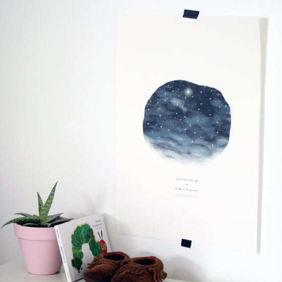 Image of ART PRINT | CONSTELLATION